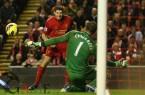 Steven+Gerrard+Liverpool+v+Fulham+Premier