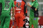 Shane Warne faces a ban for not naming himself captain for Melbourne Stars' Big Bash League defeat in Perth