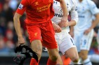 Liverpool+v+Tottenham+Hotspur+Premier+League+Steven+Gerrard+Penalty+Score