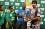South+Africa+v+Pakistan+4th+ODI+Winining+Trophy