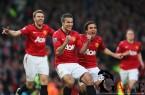 Manchester+United+v+Aston+Villa+Premier+League+Robin+Van+persie+winners