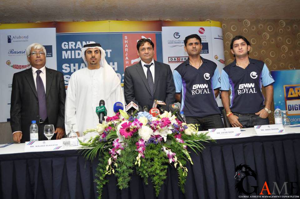 Pakistan stars to grace Sharjah Sixes event