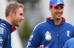 England bowlers Stuart Broad and Steven Finn are doubts for the third one-day international against New Zealand on Wednesday.