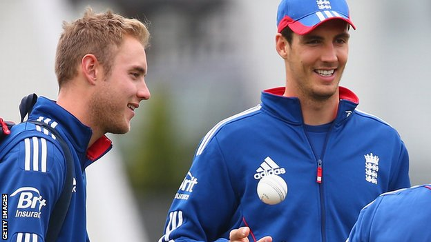 England have injury worries over Stuart Broad and Steven Finn