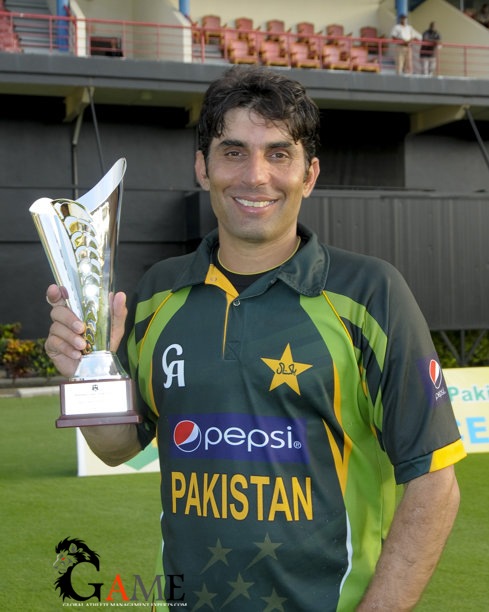 Misbah leads Pakistan to series triumph in West Indies