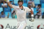 Graeme Smith brought up his fifth double century, Pakistan v South Africa, 2nd Test, Dubai, 2nd day, October 24, 2013