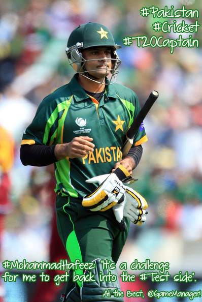 Mohammad Hafeez chats about his leadership style, his batting form, and his love for cars