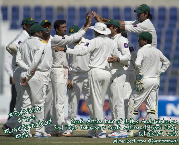 Pakistan v South Africa, 2nd Test, Dubai – The Preview