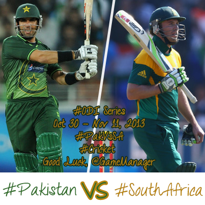 Pakistan v South Africa, 1st ODI, Sharjah – The Preview