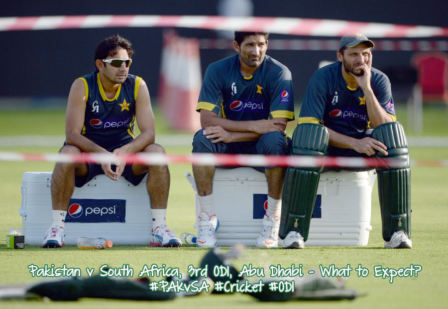 Pakistan v South Africa, 3rd ODI, Abu Dhabi – What to Expect?