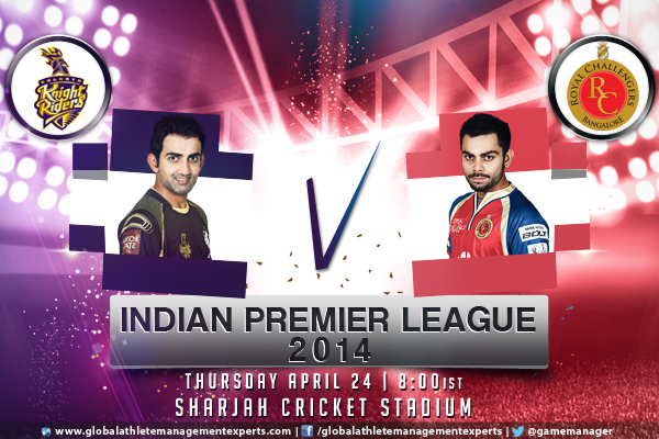 KKR bowling v RCB batting might – The Preview