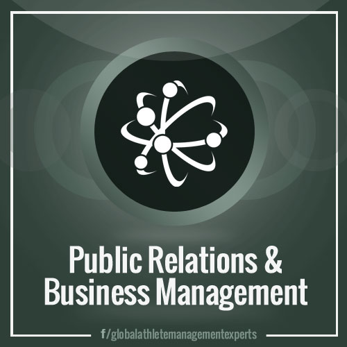 GAME: Public Relations and Business Management for Athletes and other Celebrities