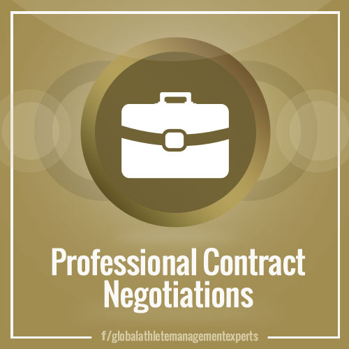 GAME: Professional Contract Negotiations for Athletes and other Celebrities