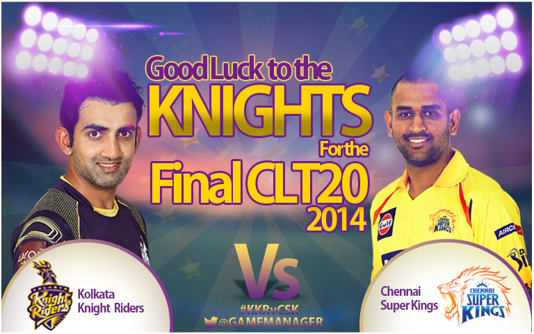 CLT20 2014 final Preview: Sunil Narine-less KKR face upbeat CSK