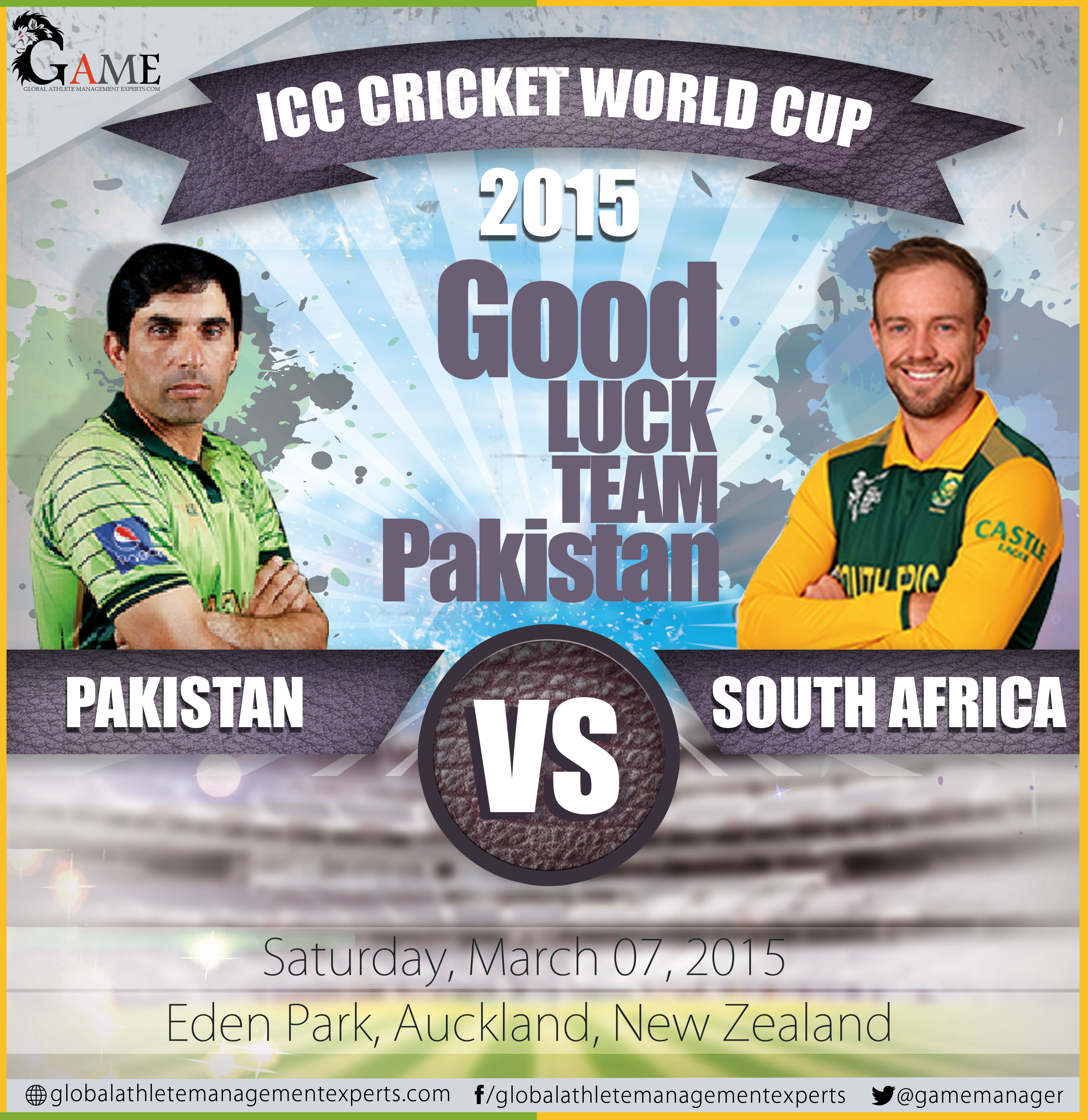 Match Preview: Pakistan v South Africa, World Cup 2015, Group B, Auckland