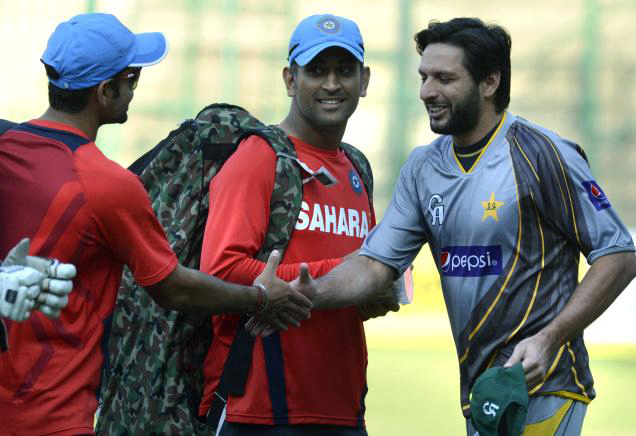 MS Dhoni, Virender Sehwag, Shahid Afridi to play in the same team for charity match