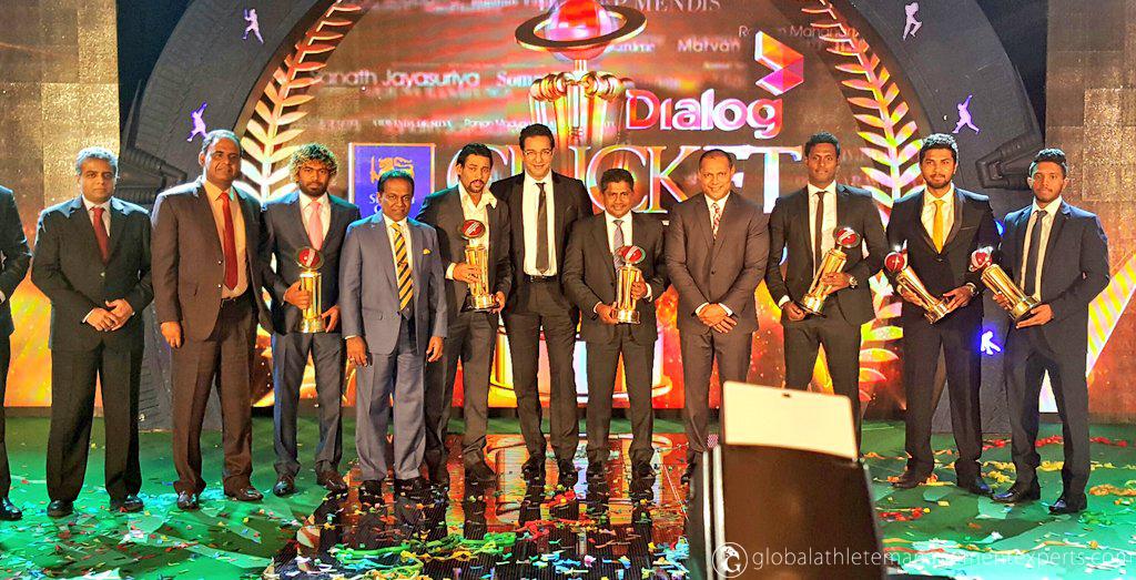 Chief guest Wasim Akram heaps praise on Sri Lanka: Mathews is Dialog Cricketer of the Year